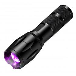 Ravlygte - UV Jagt m/zoom funktion
