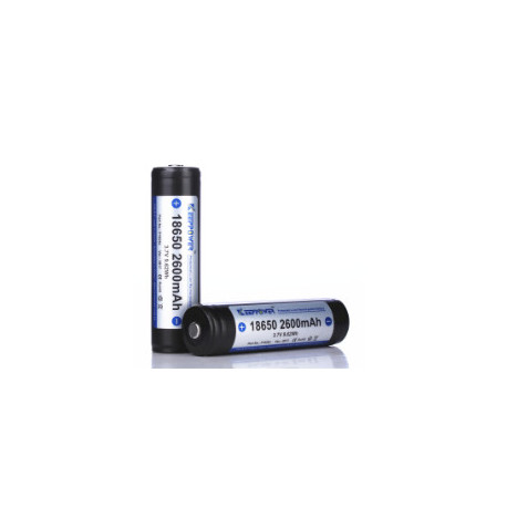 18650 KeepPower 2600mAh Protected Li-Ion batteri 3,7V