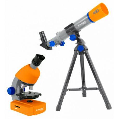 Teleskop og mikroskop sæt - Bresser